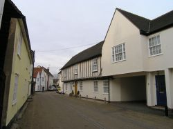 Church Street looking north, Blackmore, Essex.