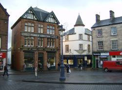 Penrith town centre, Cumbria