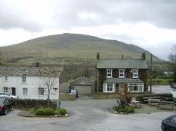 Clough Head, viewed from the carpark of The Horse And Farrier, Threlkeld, Cumbria