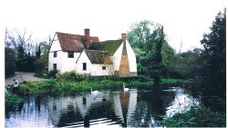 Willie Lott's Cottage, Flatford Mill, Suffolk