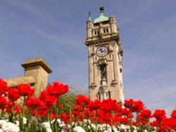 Whitehead Clock tower, Bury, Lancs.