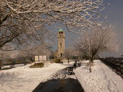 Whitehead Clock tower, Bury, Lancashire.