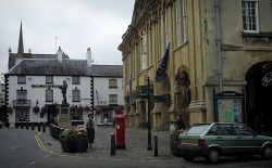 Monmouth Town Hall. Monmouthshire, Wales