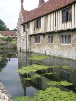 Ightham Mote, near Sevenoaks, Kent. Recently restored by the National Trust