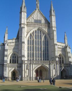 Winchester Cathedral, West Front