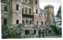 5 miles outside Kilmarnock is - Loudon Castle  - this is now a theme park the biggest in Scotland