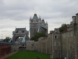 Tower Bridge from Tower of London, London Wallpaper