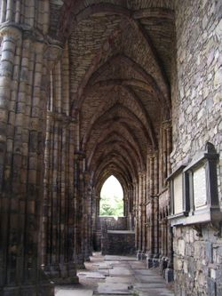 Holyrood Abbey, Edinburgh, Midlothian