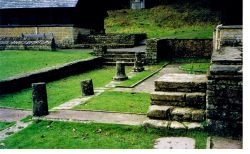 Chedworth Roman Villa in Chedworth, Gloucestershire