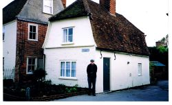 John Constable's former studio at East Bergholt, Suffolk
