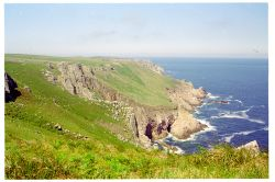 Jenny's Cove on Lundy Island