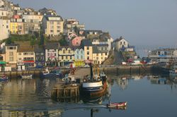 Early morning in Brixham Harbour, Devon