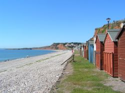 A picture of Budleigh Salterton