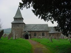 The church of Saint John the Baptist, Orcop, Herefordshire