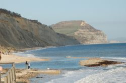 Charmouth in Dorset