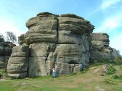 Brimham Rocks Counrty Park, North Yorkshire.