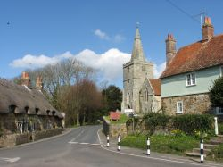 The Church of St Peter, Shorwell, on the Isle of Wight