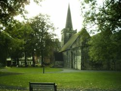 St Laurence church, Long Eaton, Derbyshire.