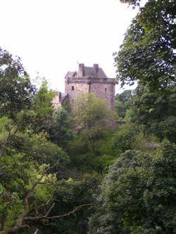 Castle Campbell, near Dollar, Scotland