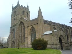 Picture of the Priory Church, Leominster, Herefordshire -  (Taken by Joe Thompson 2007)