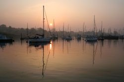 Sunrise at Lymington Quay, Lymington, Hampshire