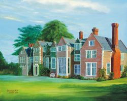 Loseley House in Surrey: A Painting by Stanley Port