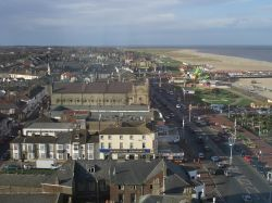 Great Yarmouth seafront, looking North.