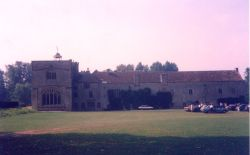 Forde Abbey, nr Chard, Somerset. A former Cistercian foundation. Photo taken September 1991.