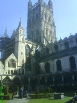 Gloucester Cathedral,