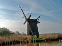 Old Windmill, Horsey, Norfolk.
