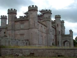 A great closeup of Lowther Castle, Cumbria.