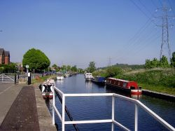 Canalside, Beeston, Nottinghamshire.