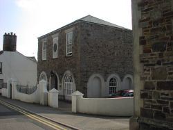the old court house, Maiden street, Stratton, Cornwall