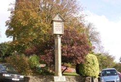 The war memorial, Stratton, Cornwall