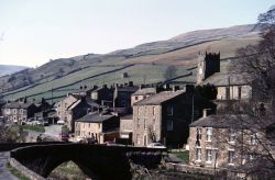 Muker in Upper Swaledale, North Yorkshire