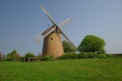 Bembridge Windmill - Isle of Wight Taken in April 2007