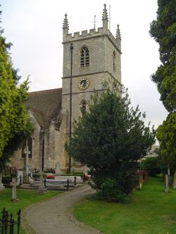 St. Martin's Church in Bladon