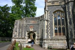 St Mary's Chuch, East Bergholt, Suffolk