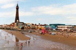 Blackpool Beach, Blackpool, Lancashire