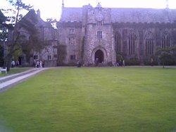 Dartington hall in Devon