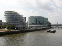 London, City Hall & More London office buildings