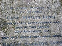 Grave of C.S. Lewis