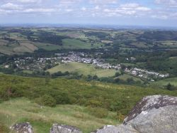 Chagford from Meldon Hill