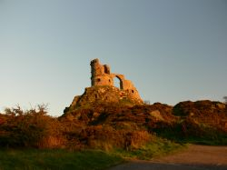 Mow Cop at sunset