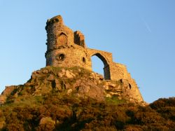 Mow Cop at just befor sunset