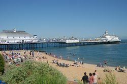 Eastbourne Promenade & Beach, East Sussex