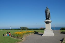Statue of Spencer Compton, Eastbourne, East Sussex