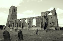 Ruins of Covehithe Church in Suffolk
