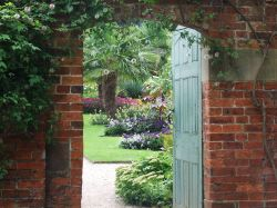 The Walled Garden at Calke Abbey, Ticknall, Derbyshire Wallpaper