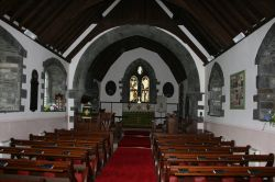 Inside Holy Trinity Church, Winster, Cumbria